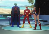 Сцена из фильма Лига Справедливости: Кризис двух Миров / Justice League: Crisis on Two Earths (2010) Лига Справедливости: Кризис двух Миров сцена 7