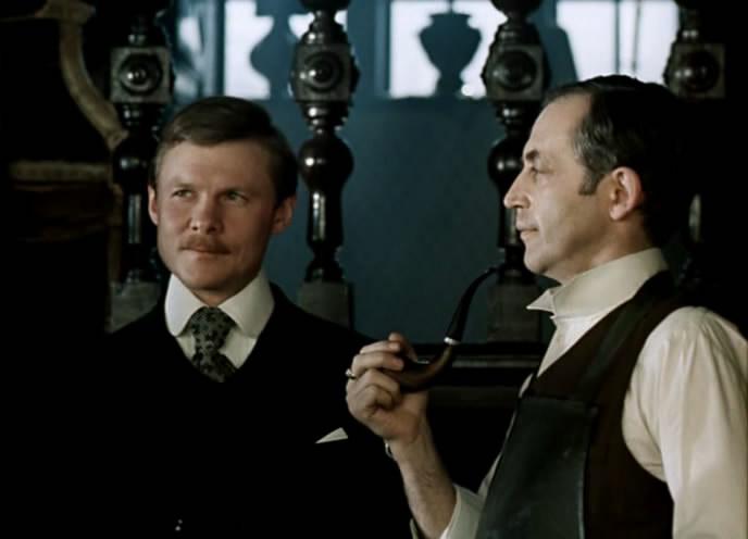 приключение шерлока холмса и доктора ватсона знакомство смотреть
