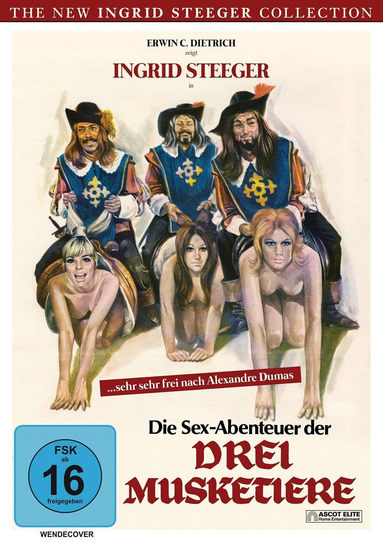 Сексуальные приключения тр х мушкетеров 1971