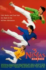 Три ниндзя наносят ответный удар / 3 Ninjas Kick Back (1994)