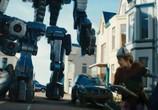 Сцена из фильма Железная схватка / Robot Overlords (2014) Железная схватка сцена 2