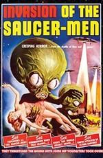Вторжение обитателей летающих тарелок / Invasion of the Saucer Men (1957)