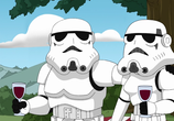 Сцена из фильма Гриффины: Там, там на тёмной стороне / Family Guy Presents: Something, Something, Something, Dark Side (2009)