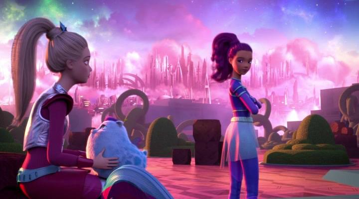 Барби и космическое приключение (2016) — трейлеры, даты премьер.