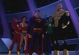 Сцена из фильма Лига Справедливости: Кризис двух Миров / Justice League: Crisis on Two Earths (2010) Лига Справедливости: Кризис двух Миров сцена 4