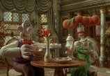 Сцена из фильма Уоллес и Громит: Проклятие кролика-оборотня / Wallace & Gromit in The Curse of the Were-Rabbit (2005)