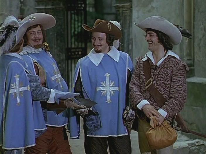 Скачать торрент Три мушкетера (1961)