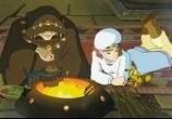 Сцена из фильма Навсикая из Долины Ветров / Kaze no Tani no Nausicaa (1984) Навсикая из Долины Ветров