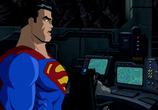 Мультфильм Супермен. Бэтмен: Враги общества / Superman. Batman: Public Enemies (2009) - cцена 2