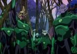 Сцена из фильма Зеленый Фонарь: Изумрудные рыцари / Green Lantern: Emerald Knights (2011) Зеленый Фонарь: Изумрудные рыцари сцена 4