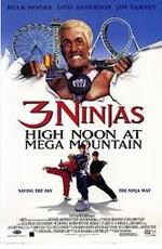 Три ниндзя: Жаркий полдень на горе Мега / 3 Ninjas: High Noon at Mega Mountain (1998)