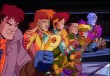 Сцена из фильма Космические спасатели лейтенанта Марша / Exosquad (1993)