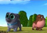 Мультфильм Дружные мопсы / Puppy Dog Pals (2017) - cцена 1