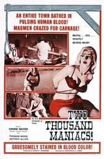 Две тысячи маньяков / Two Thousand Maniacs! (1964)