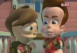 Мультфильм Приключения Джимми Нейтрона, мальчика-гения / The Adventures of Jimmy Neutron: Boy Genius (2002) - cцена 7