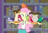 Мультфильм Мой маленький пони: Девочки из Эквестрии. Легенды вечнозеленого леса / My Little Pony: Equestria Girls - Legend of Everfree (2016) - cцена 5